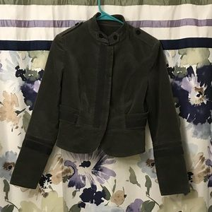 🔥MAKE AN OFFER🔥 Zara Basic Velvet Jacket